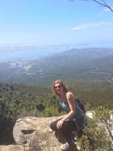 Hiking in Hobart
